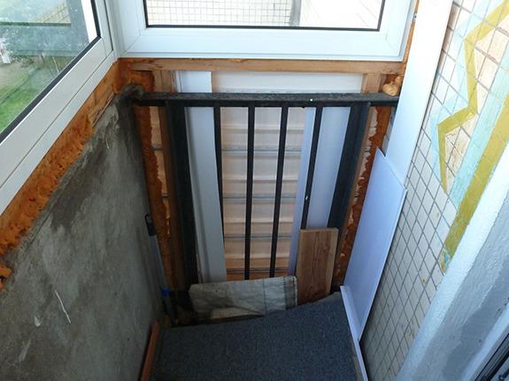 Утепление лоджий и балконов