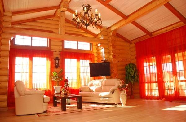 деревянный дом, отделка дома,