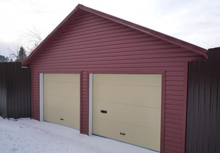 Ремонт снаружи, гараж, частный гараж