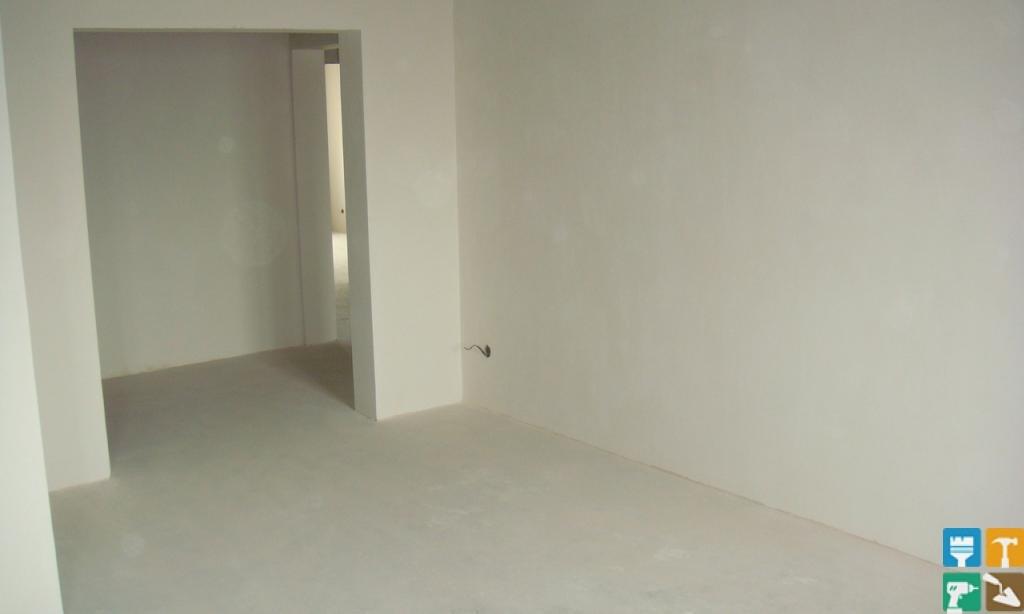 белые стены, ремонт, отделка комнаты