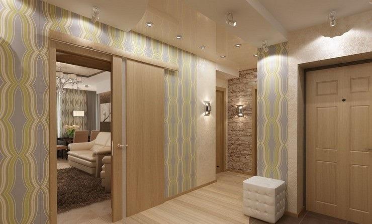 Ремонт четырехкомнатной квартире, сдвижные двери, ремонт в новостройке