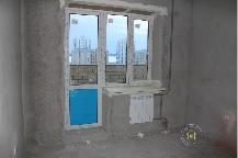 Фото до ремонта квартиры г. Тюмень, ул. Жидкова 5