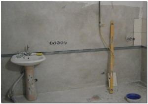 Подготовка поверхностей для укладки плитки