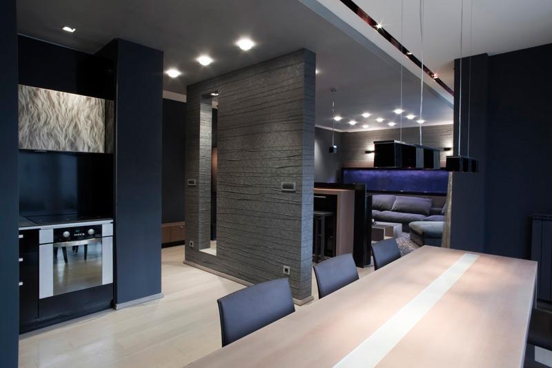 Ремонт квартиры в стиле хей тек, модный ремонт, томные тона в ремонте квартире,