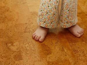 пробковое покрытие в детской