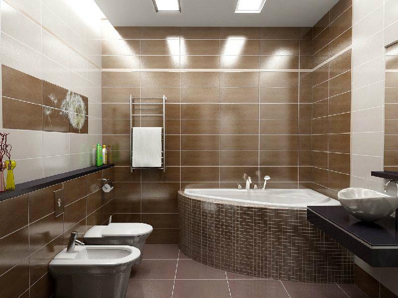 Ремонт в ванной, ремонт в туалете, дизайн плитки в ванной