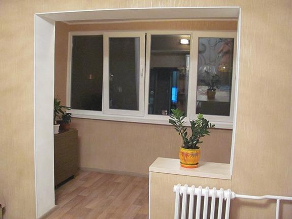 Переустройство балкона в дополнительную площадь