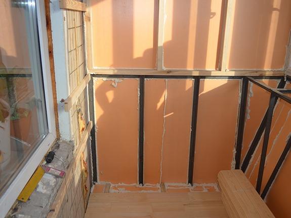 Утепление и теплоизоляция внутренних стен