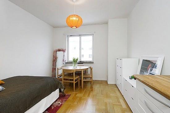 ремонт в комнате в общежитие, модный ремонт, интерьер в общежитие