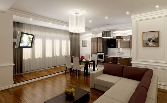 белый диван, евроремонт, светлая комната,
