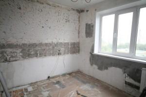 грязновые работы - этап ремонта квартиры