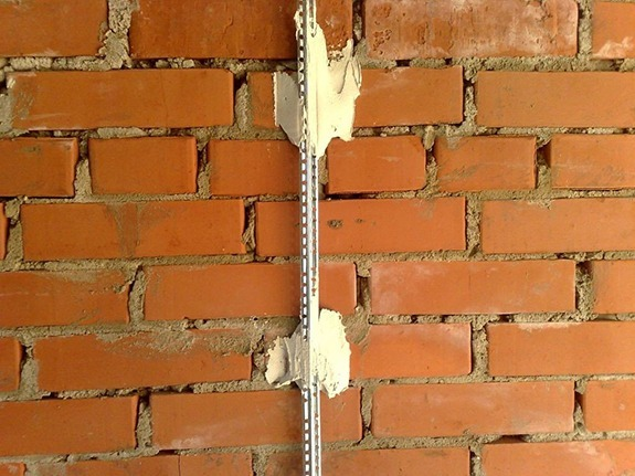 Процедура выравнивания стен